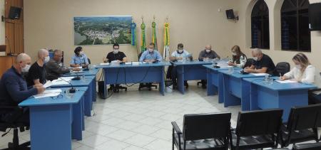 Sessão Ordinária Ocorre de Forma Presencial e Sem Público