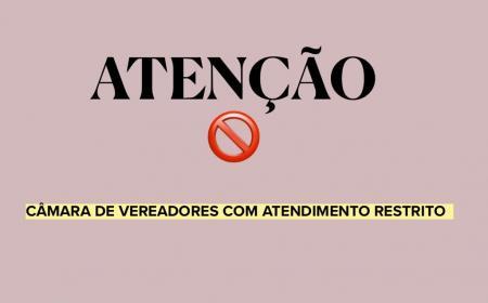 Câmara de Cruzeiro do Sul restringe acesso a suas dependências em função do agravamento da pandemia