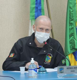 Presidente Gustavo explana sobre diferentes matérias que tramitaram na Casa Legislativa